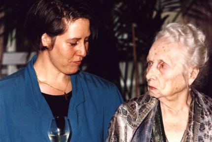Olga von Ungern Sternberg am 24.11.1995
