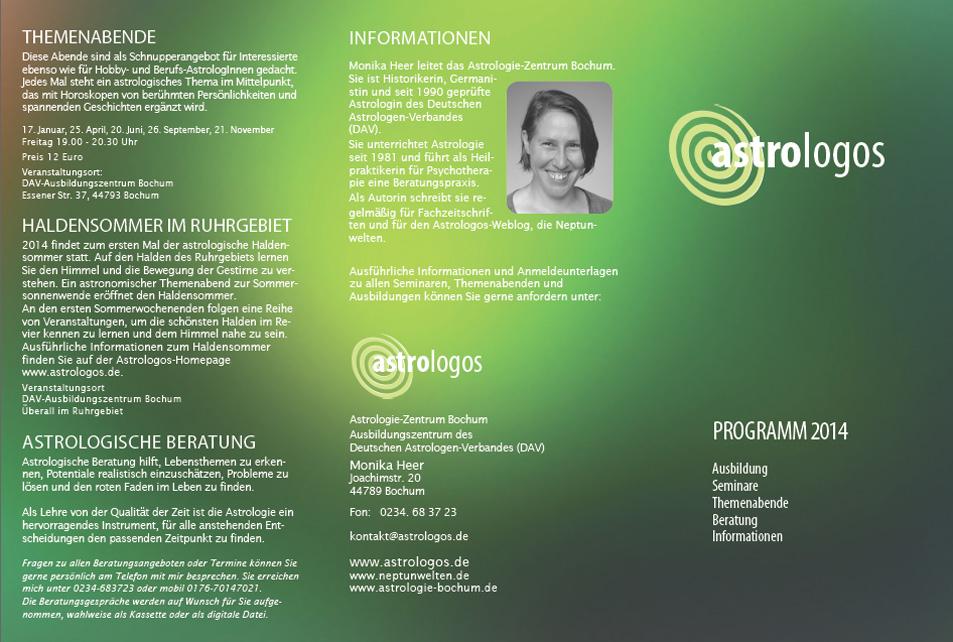Astrologos Programm 2014