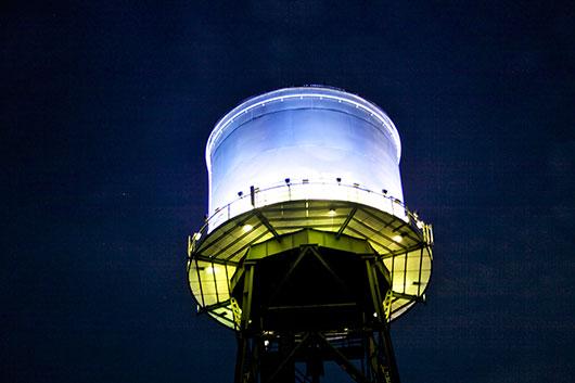 Wasserturm der Bochumer Jahrhunderthalle