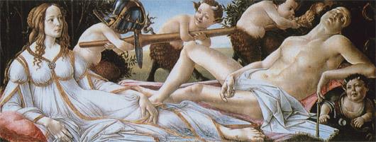 Amor vincit omnia - Venus und Mars