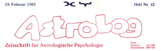 Astrologisches Fachmagazin Astrolog