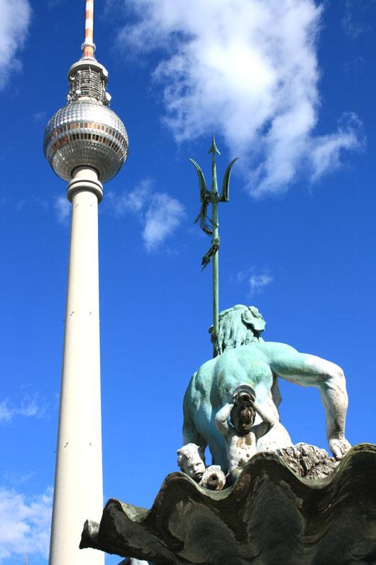 Neptunbrunnen am Alex