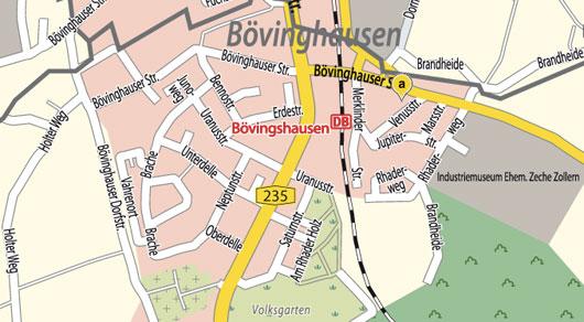 Planetenstraßen in Dortmund