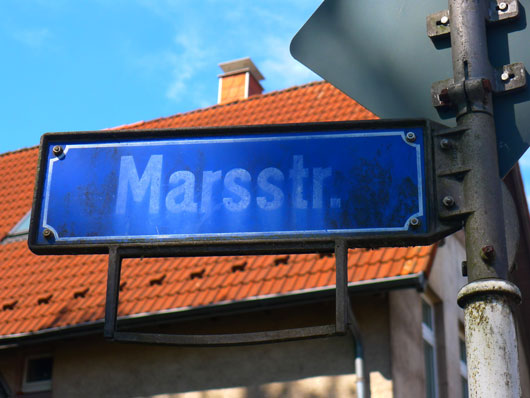 Mars-Straße in Dortmund