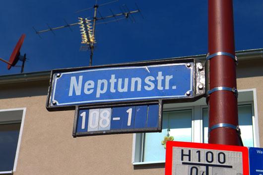 Neptun-Straße in Dortmund
