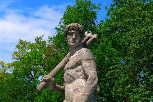 Der Neptunbrunnen in München