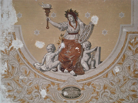 Göttin Vesta als Göttin des Bauwesens