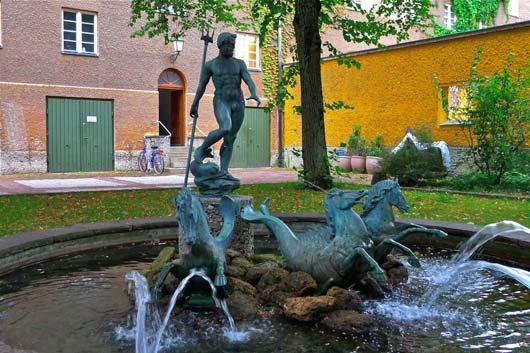 Neptunbrunnen Borstei München
