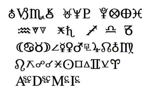 Star Font mit Serifen