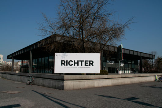 Gerhard Richter Panorama Neue Nationalgalerie Berlin