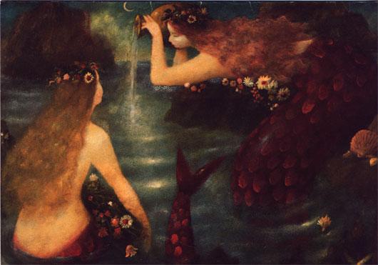 Undinen und Meerjungfrauen