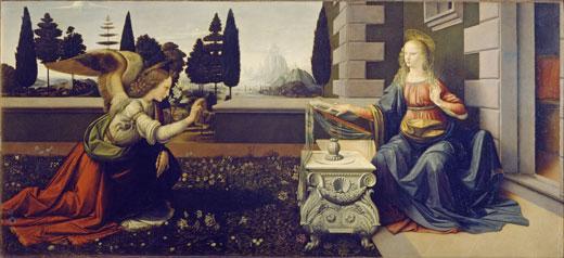 Leonardo Da Vinci - Annunciazio