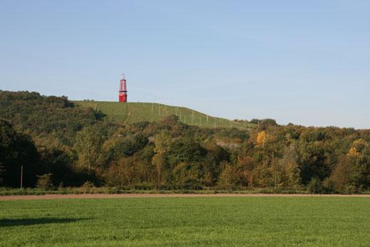 Halde Rheinpreussen mit Otto Piene Geleucht