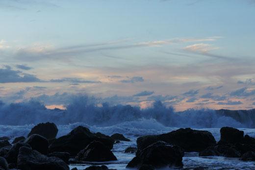 Meer, Wellen und die Brandung