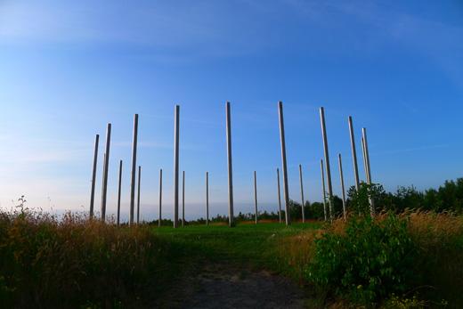 Sonnenuhr Halde Schwerin