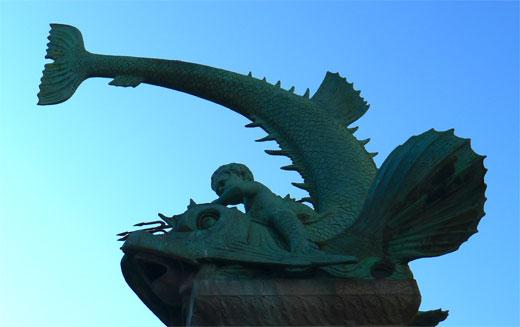Tritonbrunnen in Duisburg