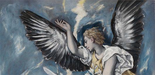 El Greco Engel der Verkündigung