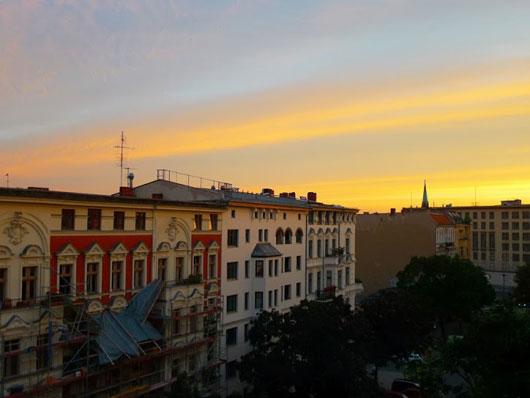 Himmel über Berlin-Schöneberg