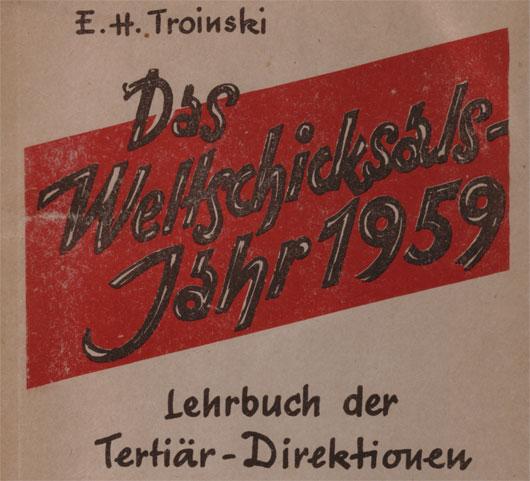 Troinski Lehrbuch der Tertiaerdirektionen