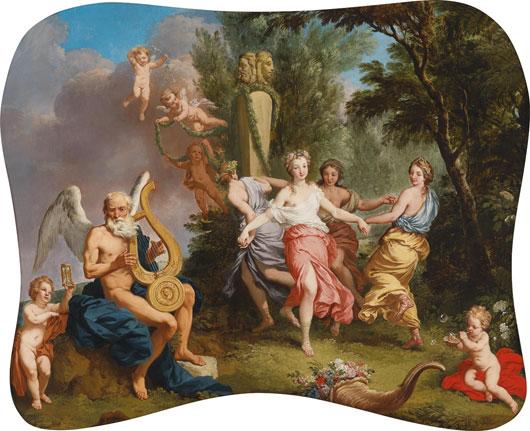 Laurent de La Hyre Tanz zur Musik der Zeit