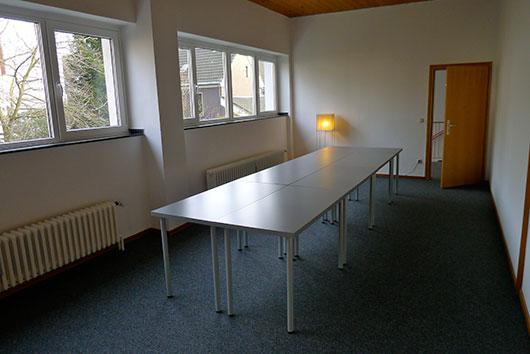 Neue Tische Astrozentrum Bochum