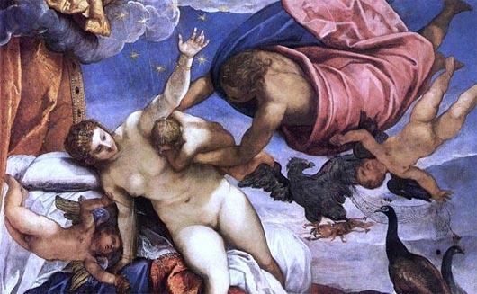 Tintoretto Die Entstehung der Milchstraße
