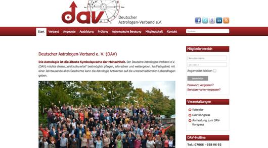 Relaunch der DAV-Website Frühjahr 2014