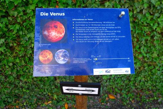 Planetenweg Witten - Venus