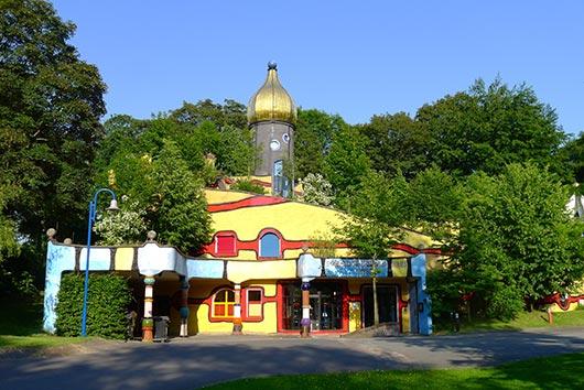 Hundertwasser-Haus in Essen an der Ruhr