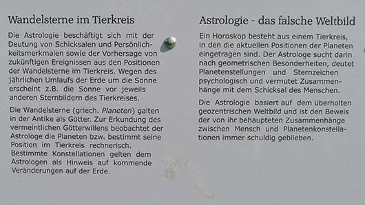 Sternwarte Recklinghausen zur Astrologie