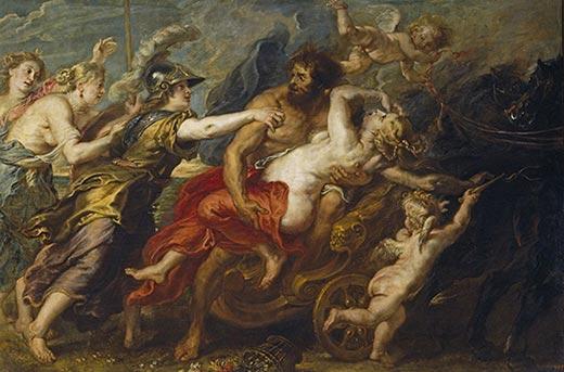 Peter Paul Rubens - Raub der Persephone