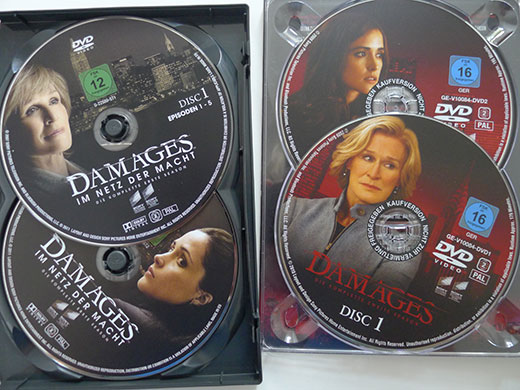 Damages mit Glenn Close als Rechtsanwältin Patty Hewes