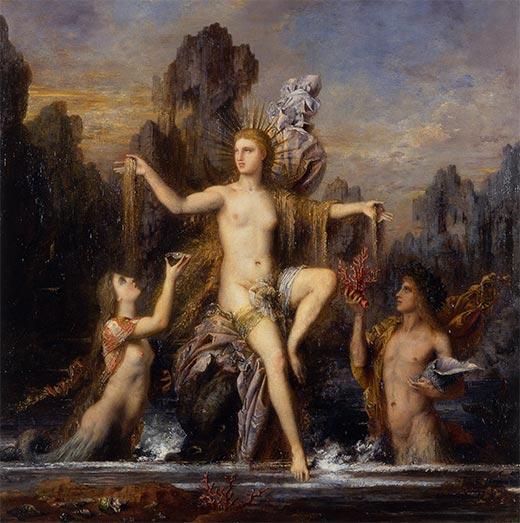 Gustave Moerau Venus steigt aus den Fluten empor