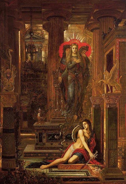 Gustave Moreau Orest und die Furien