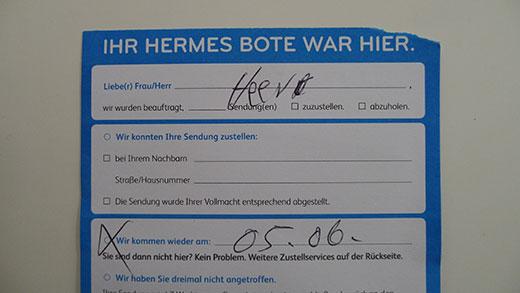Der Götterbote Hermes