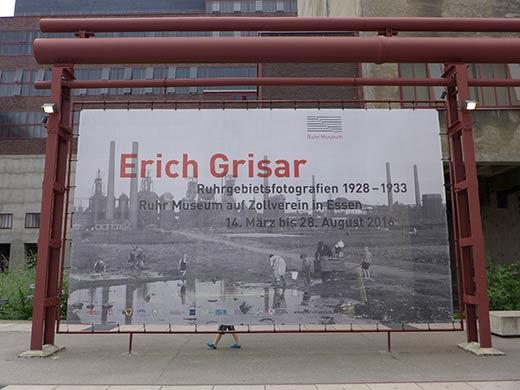 Ausstellung Erich Grisar Zeche Zollverein