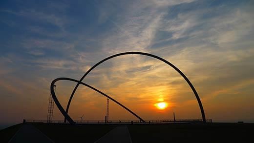 Tag- und Nachtgleiche auf der Halde Hoheward