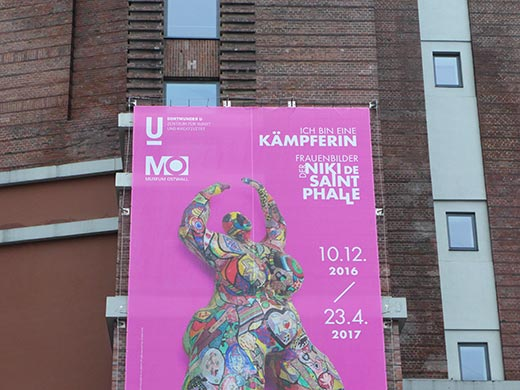 Niki de Saint-Phalle Austellung Dortmund