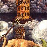 Tarotkarte XVI - Der Turm